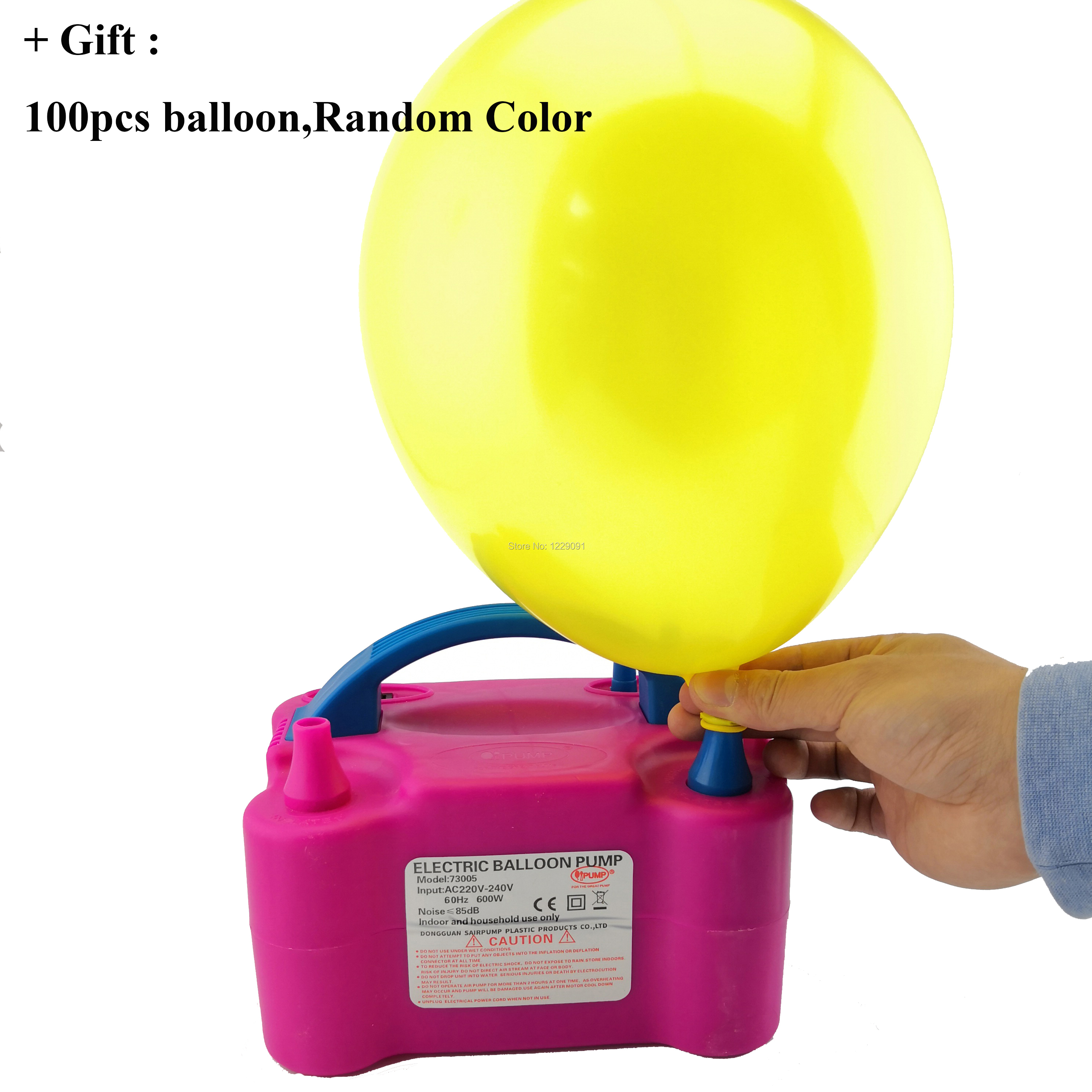 1PC Mini Plastic Inflator Balloon Pump Hand Held Party Home Ballon Tool L/_X
