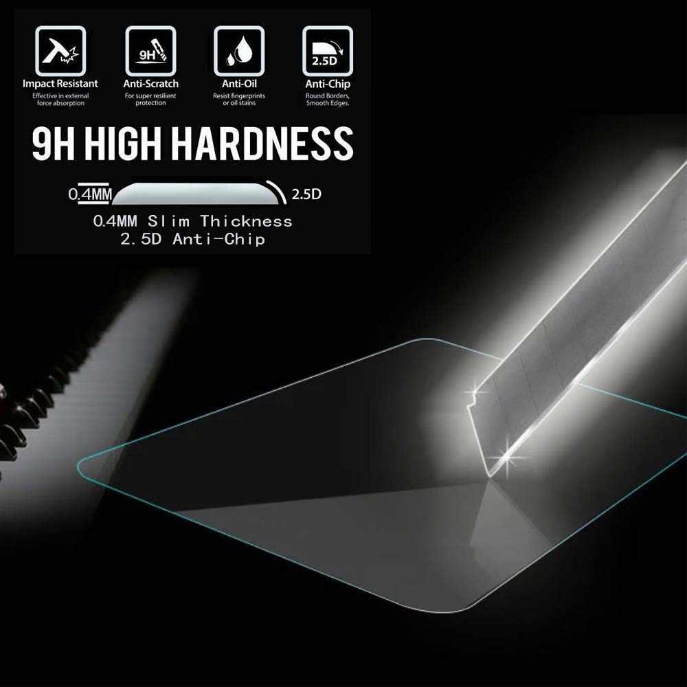 Alcatel one touch için 1T 7-9H Premium Tablet temperli cam ekran koruyucu Film koruyucu güvenlik kapak
