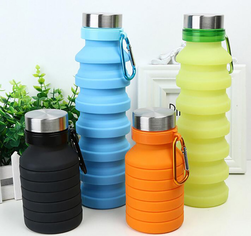folding silicone cup cover dust-free outdoor coffee cup, can maintain a telescopic and repeated use of travel mugs