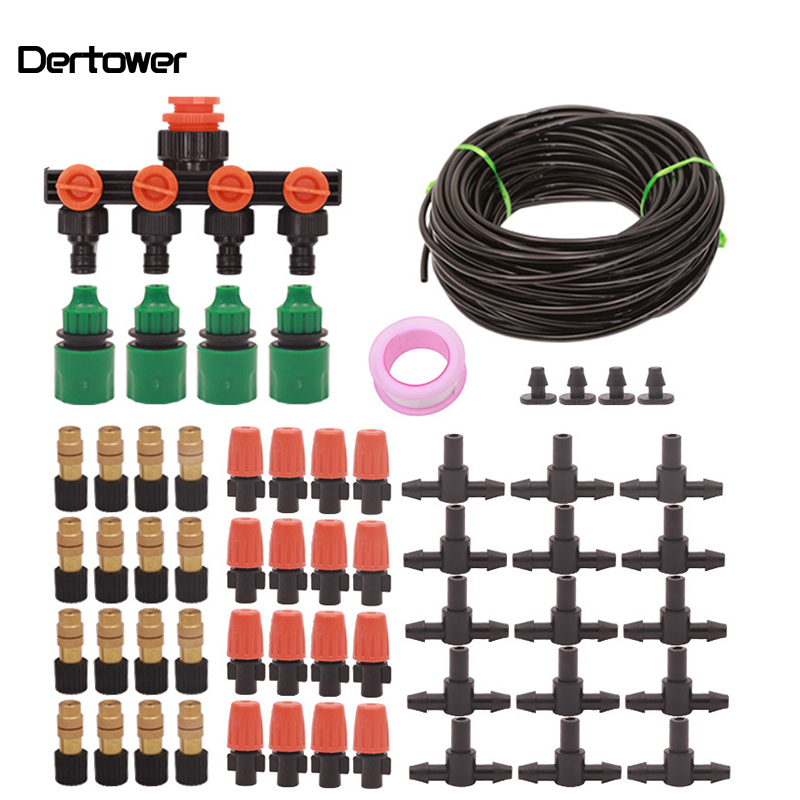 1Set Potted Plant Lazy Irrigator Automatic Flower Irrigator Spray Cooling Flower Irrigation Set Three Models 30MM 40MM 50MM