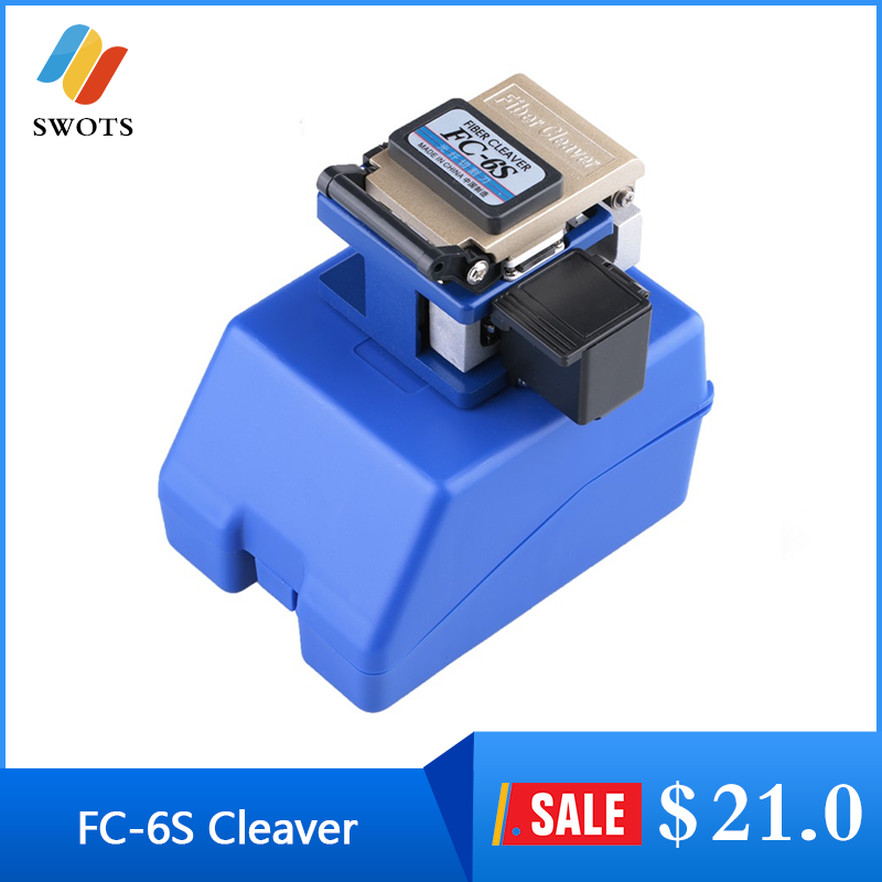 Cleaver OEM FC-6S Easy Splicer Fiber Optic Fusion Splicer Cleaver Automatic Focus Function FTTH