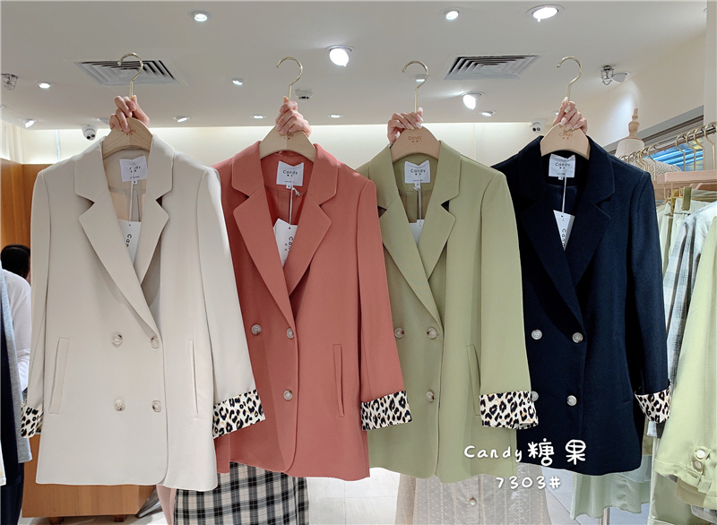 Korean Stylish Ladies Blazer Solid Green Loose Casual Suit Jacket Simple Blazers Mujer Retro Spring Women Jacket New MM60NXZ