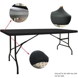 Custom Rectangular Tablecloths Top Spandex Stretch Table Top