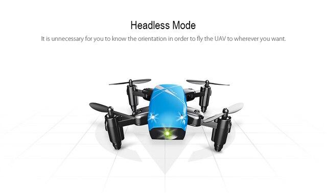 S9HW Mini Drone With Camera S9 No Camera RC Quadcopter Foldable Drones Altitude Hold RC Quadcopter WiFi FPV Pocket Dron VS CX10W 3