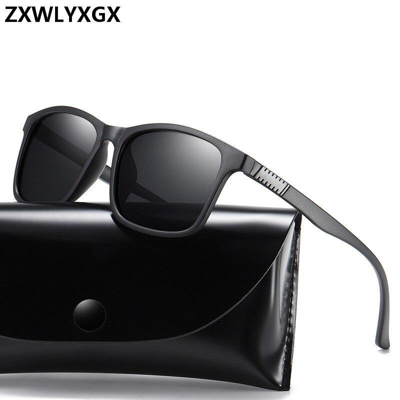 Brand Design Classic Polarized Sunglasses Men Women Driving Square Frame Fashion Sun Glasses Male Goggle UV400 Gafas De Sol