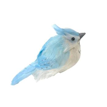 Blue Potbellied Bird Easter Decoration Gift Resurrection For Party X9U3 Bir Decor Home Wedding Festival Simulation Bird Orn T8P3 image