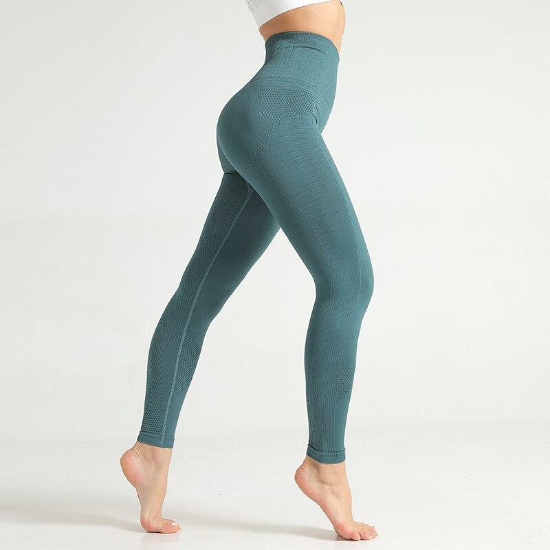 yoga calças de cintura alta leggings push