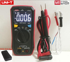 Uni-T Multimeter Ncv-Tester Temperature Pocket-Sized Residential Free DC AC Soft-Bag