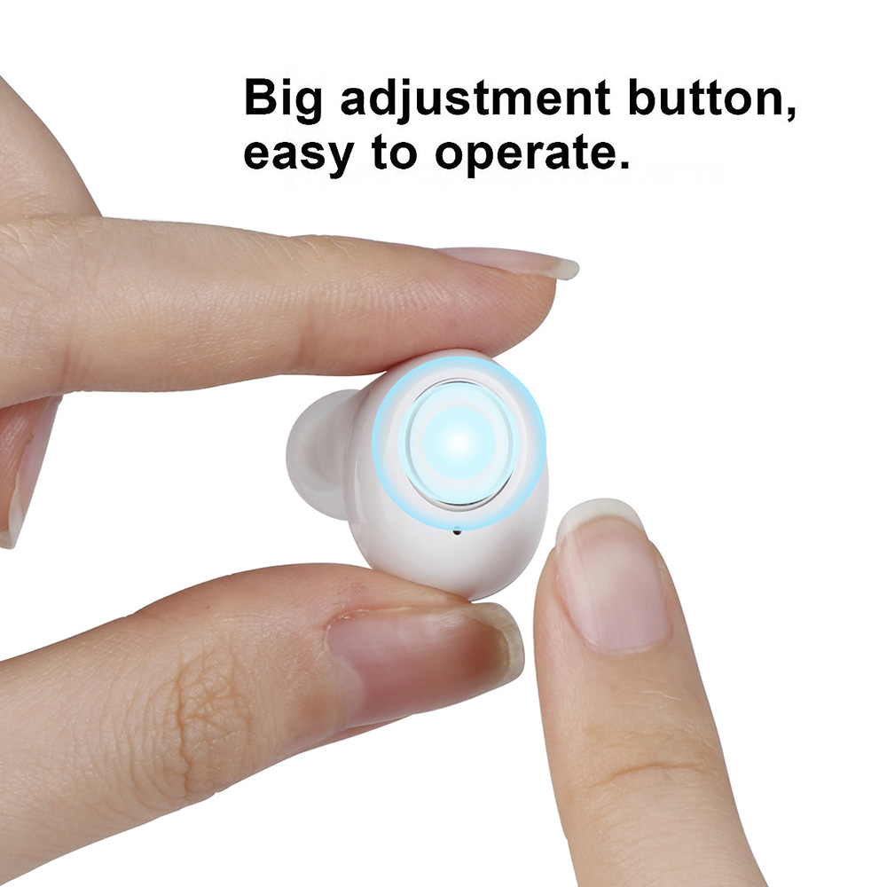 OLIECO Invisable Hearing Aids USB Rechargeable Mini Hearing Sound Amplifier for the Elderly