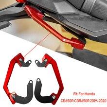 For Honda CB650R CBR650R 2019 2020 Passenger Rear Seat Grab Bar Hand Rail Handlebar CNC machined Motorcycle Parts CB CBR 650R