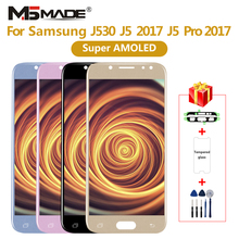 Super AMOLED For Samsung Galaxy J5 2017 J530 LCD Touch Screen Digitizer For Galaxy J5 pro  J530F J530FM Assembly Part цена и фото