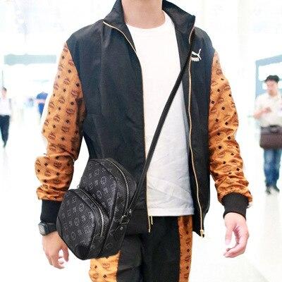 2020 New New Men's Shoulder Bags Man Business Messenger Bag Men Printed Casual Shoulder Bag Purses And Handbags