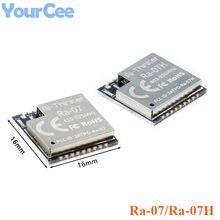 Ra-07 Ra-07H módulo sem fio wifi lorawan baixa potência lora rf módulo asr6501 3.3v smd18 uart gpio i2c iic pwm adc swd