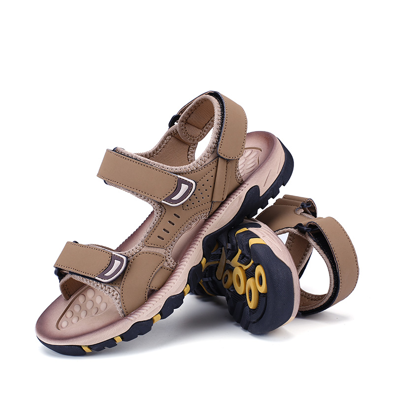 2020 Summer Teen Junior High School Student Sandals Men Beach Big Boy Men Casual Trend Personality Wild 45 46 Mans Footwear