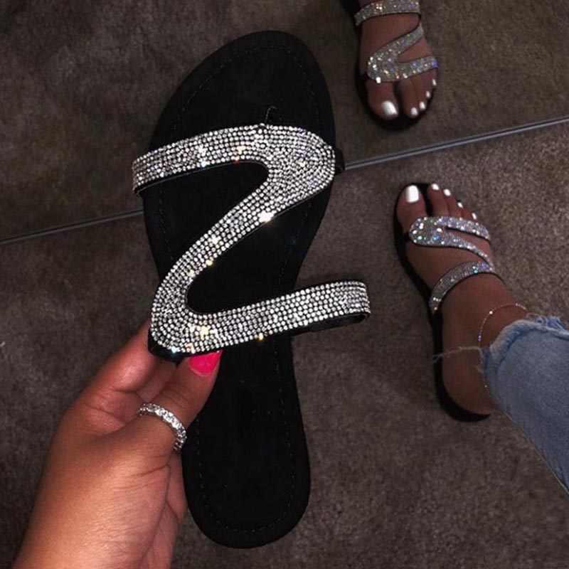 Kadın sandalet platformu kadın roma yeni 2020 moda kadın ayakkabısı yaz taklidi sandalet ayakkabı kadın Flip Flop Chaussures Femme