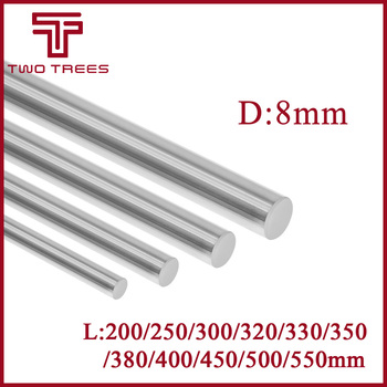OD 16mm Cylinder Liner Rail Linear Shaft Optical Axis Length 200//300//400//500mm
