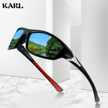 KARL Polarized Sunglasses Women Outdoor Sports Men Lentes De Sol Hombre Sport UV400