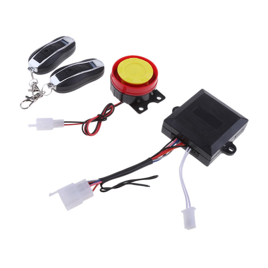 Motorcycle Bike Protector Anti Theft Security Alarm System With Remote Control