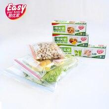 Ldpe Plastic Food Storage Packaging Ziplock Freezer Fresh Bag Reusable Zipper Clear Sandwich