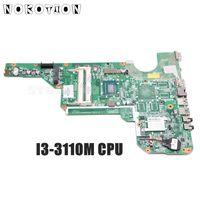 NOKOTION 710873 001 710873 501 For HP Pavilion G6 G6 2000 Laptop Motherboard I3 3110M CPU DDR3 Full tested