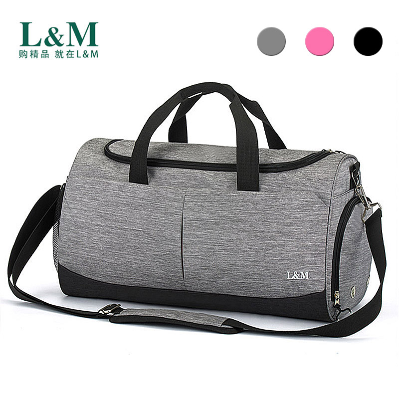 2109 Men Sports Gym Fitness Bag Women Large Capacity Dry Wet Separation Independent Shoe Space Yoga Training Handbag Storage Bag