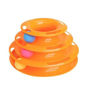 Creative Pet Cat Toy Three-lay
