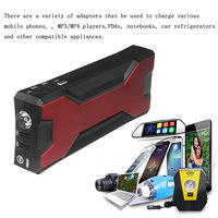 18000mAh Car Battery Charger Pack Jump Starter Multi Function Auto Emergency Power Bank for Starting Car