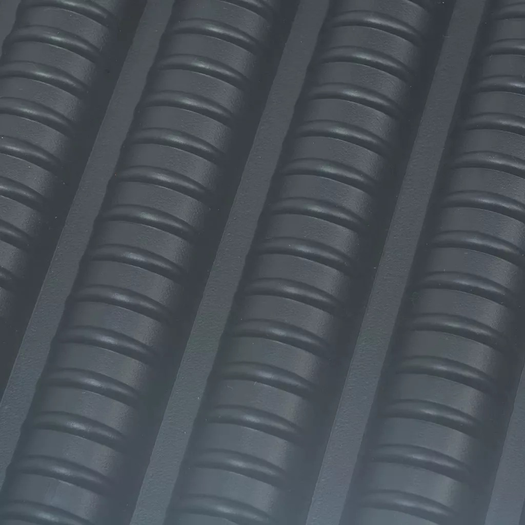 VidaXL PE matériau chauffe-piscine solaire 100% PE matériau chauffe-piscine solaire inclus 1 tuyau de raccordement et 2 colliers de serrage V3 - 2