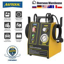 AUTOOL مبدل تعبئة زيت فرامل السيارة ، آلة استخراج ، مضخة نقل نبضية كهربائية ، لتنظيف خط الأنابيب ، 220 فولت ، 110 فولت ، AST605