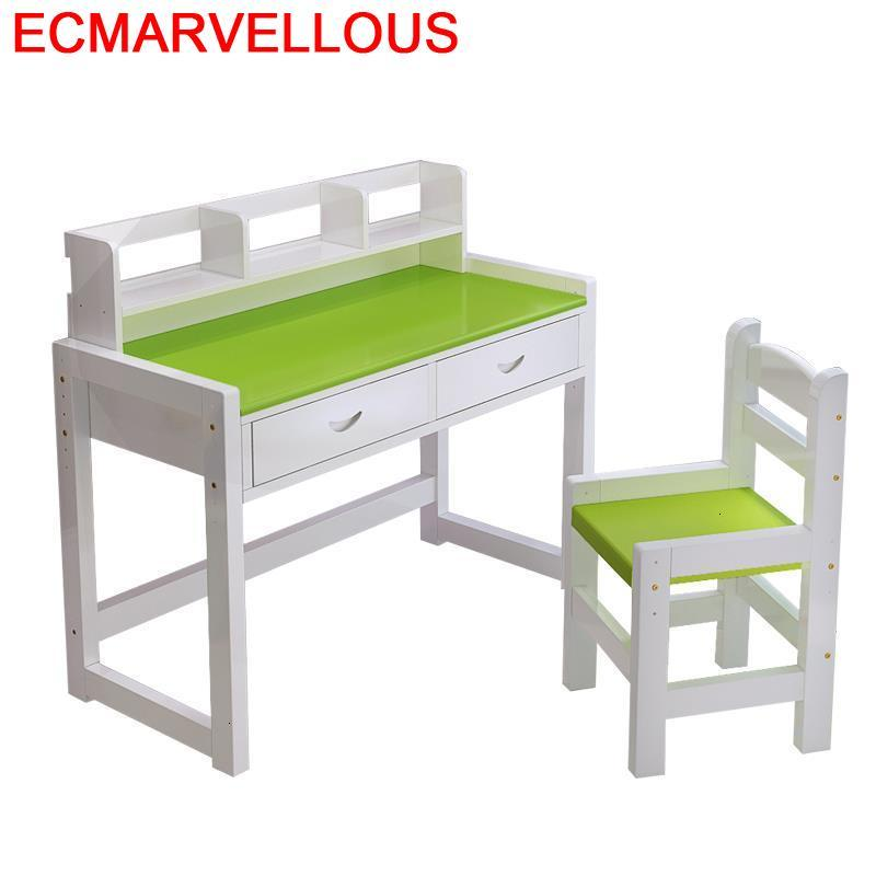 Infantiles Desk Y Silla Infantil Mesa De Estudio Child Kindertisch Avec Chaise Adjustable Enfant Kinder For Kids Study Table