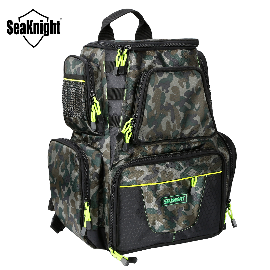 SeaKnight SK004 Fishing Bag 25L 7.5L Large Capacity Multifunctional Bag Backpack Outdoor Fishing Tackle Bag 44*41*20 /38*34*18cm|Fishing Bags|   - AliExpress