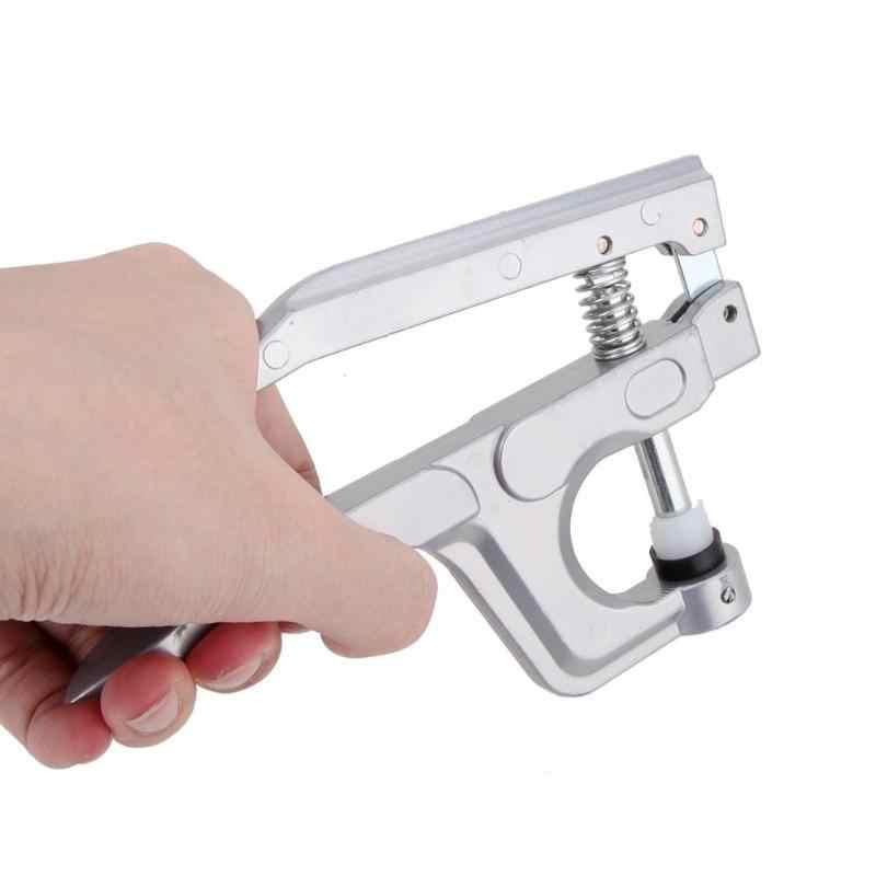 Металлические плоскогубцы Набор инструментов для T3 T5 T8 Kam кнопки крепления плоскогубцы + 150 Набор T5 пластиковые смолы Пресс Стад ткань пеленки