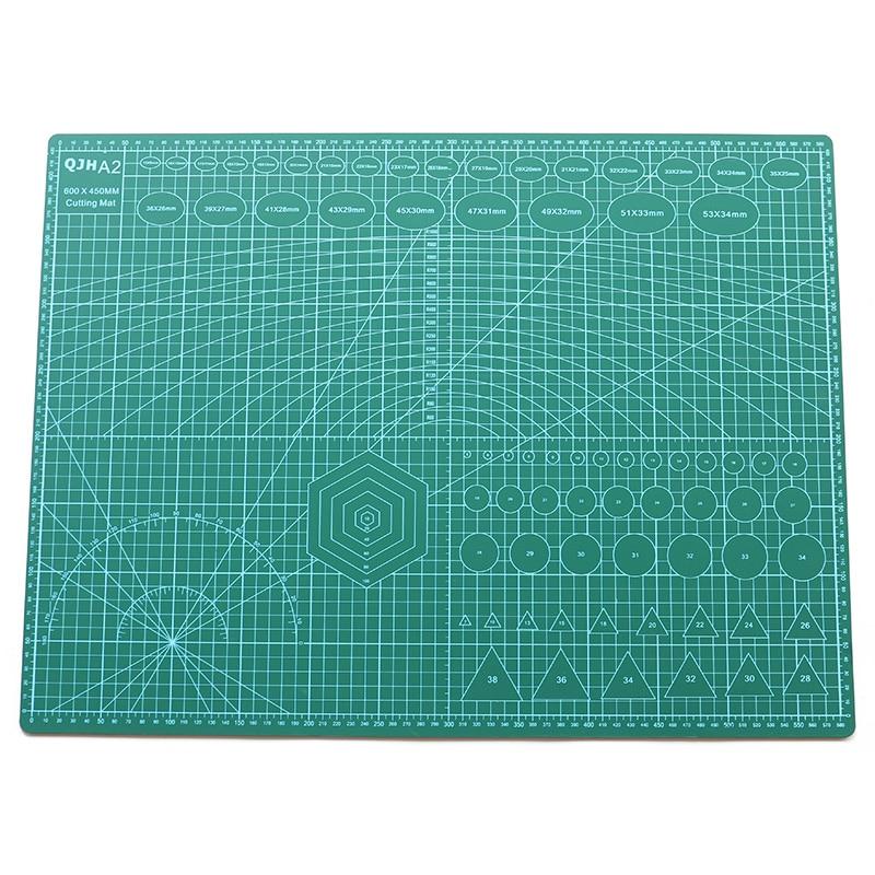 Profissional almofadas de corte pvc a1 a2 a3 a4 a5 placa corte diy artesanato couro escultura perfuração essencial pvc esteira suprimentos ferramenta