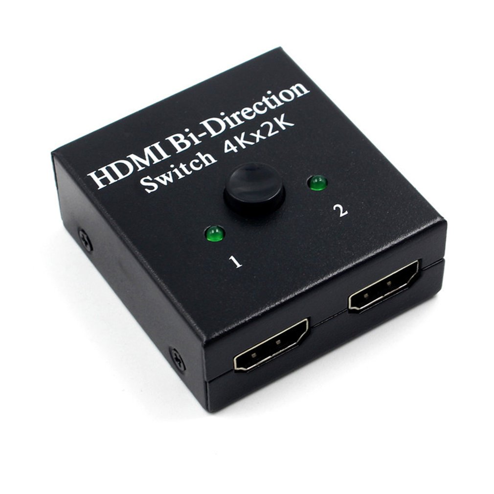 Hdmi 2.0 Intelligent Bi-Direction Switcher 2X1 1X2 Ultra Hd 4K 4K Bidirectional Hdmi 2.0 Hub Hdcp Hdcp 3D 1080P Resolution 4K