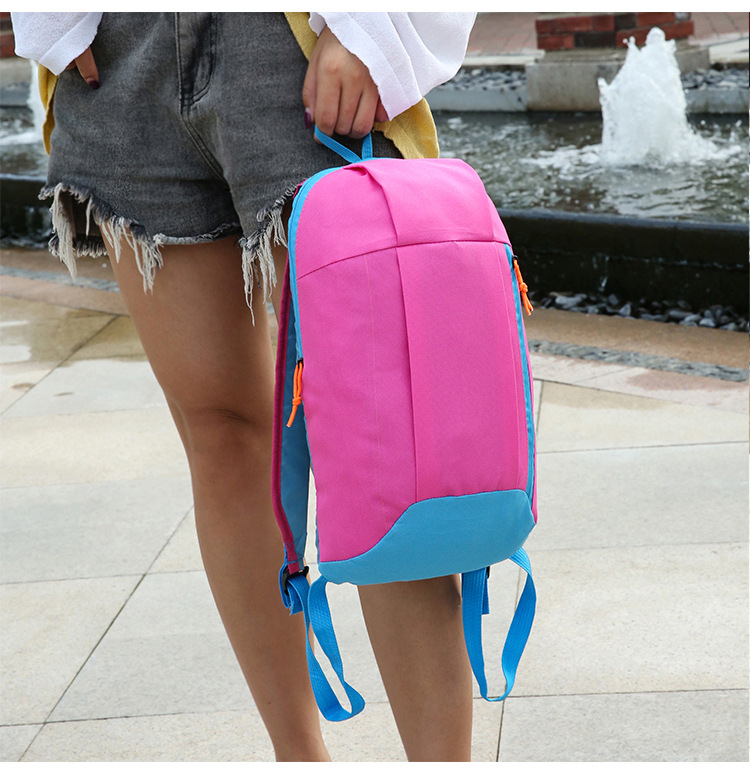 Waterproof Sport Backpack Small Gym Bag Women Pink Outdoor Luggage For Fitness Travel Duffel Bags Men Kids Children sac de Nylon
