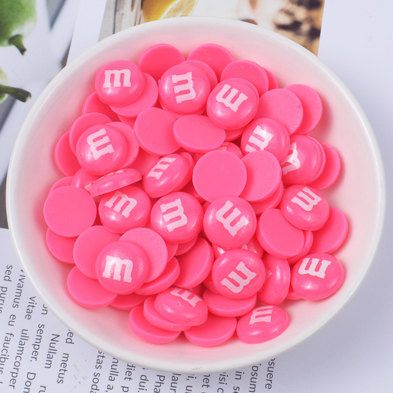 5Pcs Mini M Beans Addition For Slime Fluffy Light Plasticine DIY Polymer Clay Accessories Decoration Lizun Kids Model Tool Toys