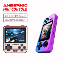 Game-Player Arcade-Games PS1 Anbernic Rg280m Rg280console RG351M Metal Handheld Shell-System