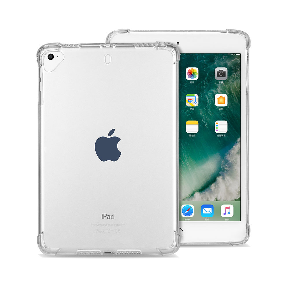 Essidi Soft Clear Case For Ipad Mini 1 2 3 4 5 Tansparent Anti Shock TPU Tablet Case For Ipad 2 3 4 Cover For Air 1 2 3 2018 9.7