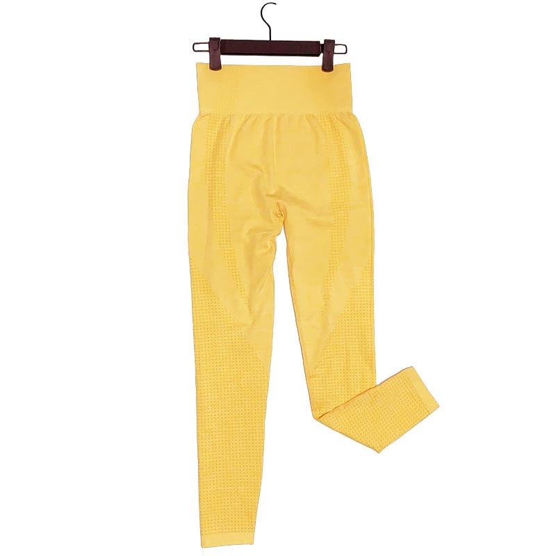 Kaminsky 14 Colors High Waist Seamless Leggings For Women Solid Push Up Leggins Athletic Sweat Pants Sportswear Fitness Leggings 21