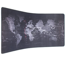 pbpad store new Super Large Size 90cm*40cm The World Map mouse pads Speed Computer Gaming Mouse Pad Locking Edge Table Mat