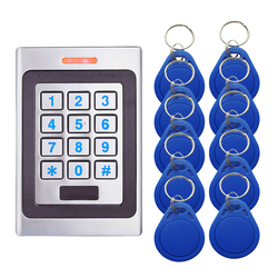 A7 metalowy System kontroli dostępu urządzenie maszyna 2000 wejście i wyjście użytkownika 125Khz wejście zbliżeniowe IP67 wodoodporne