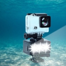 Underwater shooting diving fill light Gopro lighting equipment outdoor sports photo highlights waterproof led lights