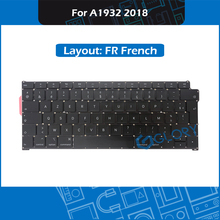 New A1932 Keyboard FR French Layout For Macbook Air 13.3″ A1932 France Keyboard Replacement 2018 EMC 3184 MRE82