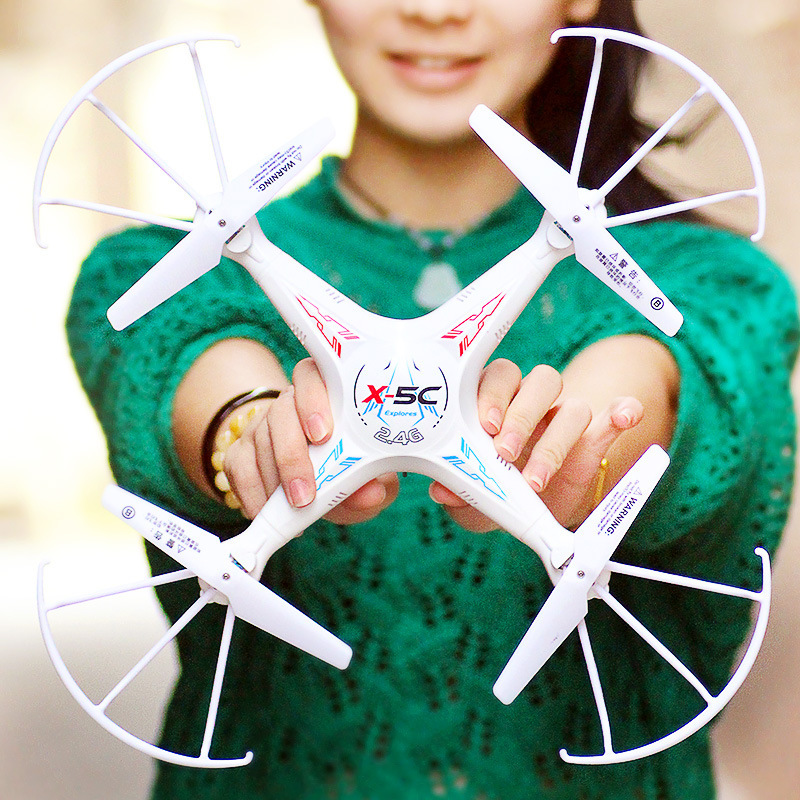 Four-axis UAV (Unmanned Aerial Vehicle) Airplane Young STUDENT'S Profession Remote Control Toy Remote Control Drop-resistant ≥ 1