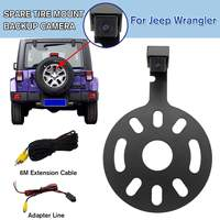 NEW Car Rear View Camera Rearview IP67 Waterproof Backup Camera + OEM Radio Video Harness for Jeep for Wrangler