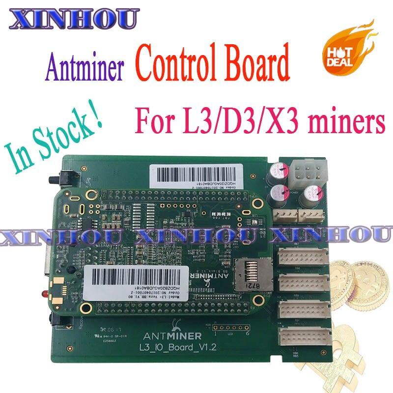 Asic miner Bitmain Antminer L3 + D3 X3 Control Board Motherboard Für Ersetzen Schlechte Bord Von ANTMINER L3 + D3 x3