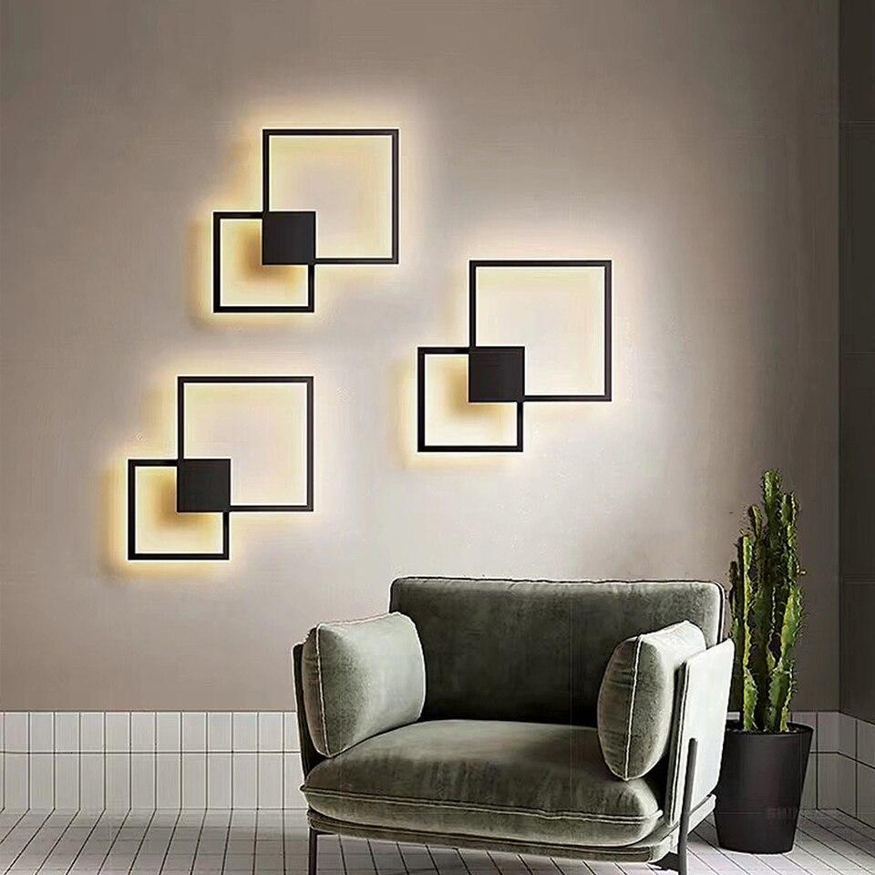 Zerouno led panel licht wohnzimmer DIY wand dekoration panel lampe modul  lampen runden platz 9v 9w 9w panel beleuchtung