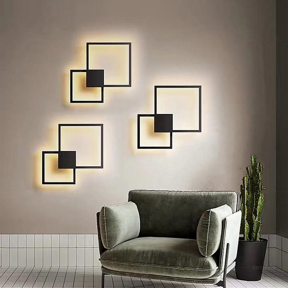 Zerouno Led Panel Light Living Room DIY Wall Decoration Panel Lamp Module Lamps Round Square 220v 20w 24w Panel Lighting