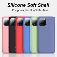The New Upgrade Liquid Silicone Soft Case for Iphone 11 11Pr