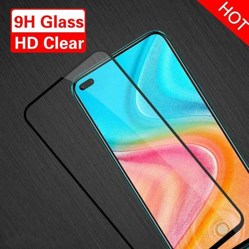 For Huawei P40 P20 P30 Lite 9H Protective Glass 2.5D Full Cover Tempered Glass For Huawei P20 Pro P30 Lite Plus Screen Protector